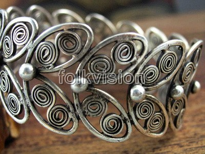Tribal Miao Handmade Bracelets JB159 - Click Image to Close