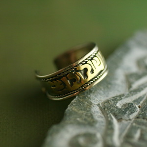 Ethnic Tribal Tibetan Handmade Ring TR015