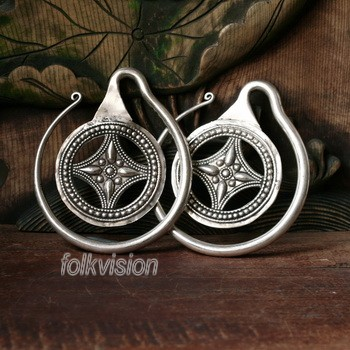 Tribal Miao Handmade Earrings JE013