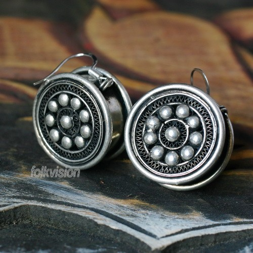 Tribal Miao Handmade Earrings JE053