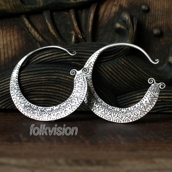 Tribal Miao Handmade Earrings JE080