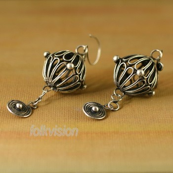 Ethnic Tribal Miao Handmade Earrings JE160
