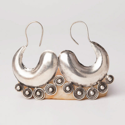 Ethnic Tribal Miao Handmade Earrings JE318