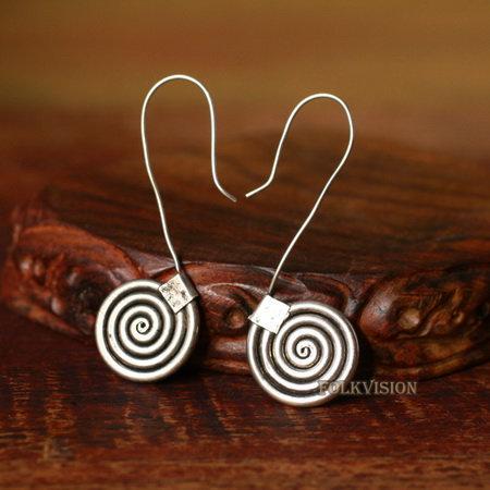 Ethnic Tribal Miao Handmade Earrings JE327
