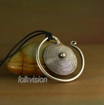 Tribal Miao Handmade Pendant Necklace MN068