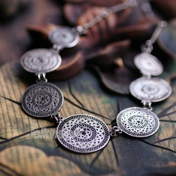 Tribal Miao Handmade Pendant Necklace MN070