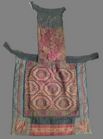 Old Chinese Dong Woven and Embroidered Baby Carrier BC8004