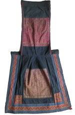Old Chinese Dong Woven and Embroidered Baby Carrier BC8006