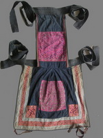 Old Chinese Dong Woven and Embroidered Baby Carrier BC8008