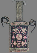 Old Chinese Dong Woven and Embroidered Baby Carrier BC8011