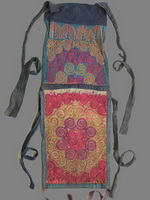 Old Chinese Miao Embroidered Baby Carrier BC8020