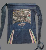 Old Chinese Miao Embroidered Baby Carrier BC8024