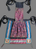 Old Chinese Dong Woven and Embroidered Baby Carrier BC8038
