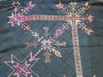 Old Chinese Tribal Miao Embroidered Jacket C8024