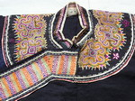 Old Chinese Tribal Miao Embroidered Jacket C8031