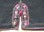 Old Chinese Tribal Miao Embroidered Jacket C8034