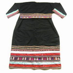 Old Chinese Tribal Miao Embroidered Jacket S6074