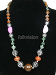 Ethnic Tribal Tibetan Beaded Necklace TN008