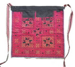 OLD CHINESE Gejia TEXTILE EMBROIDERED APRON TA8016