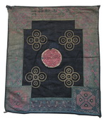 Old Chinese Dong Textile Embroidered Panel EP8034