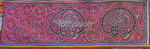 Old Chinese Miao Textile Embroidered Panel EP8050