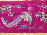 Old Chinese Su Textile Embroidered Panel EP8071