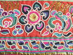 Old Chinese Miao Textile Embroidered Panel EP8075