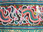 Old Chinese Miao Textile Embroidered Panel EP8076