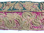 Old Chinese Miao Textile Embroidered Panel EP8078