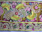 Old Chinese Miao Textile Embroidered Panel EP8082