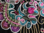 Old Chinese Miao Textile Embroidered Panel EP8084